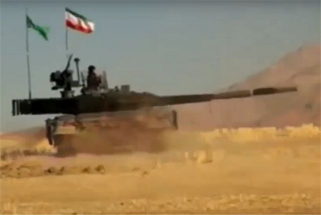 New Iranian-made Karrar MBT Main Battle Tank unveiled by local television footage 640 001