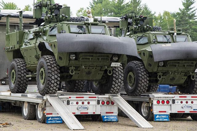 Textron Systems to deliver the first TAPV Tactical Armoured Patrol Vehicle to Canadian army 640 001