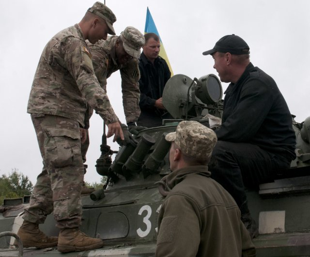 US Army and multinational partners train Ukrainian Armed Forces to improve their capability 640 001