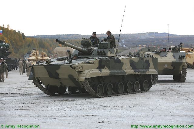 Analysis Russian defense industry IFV Infantry Fighting Vehicles on the global military market BMP-3M 640 001