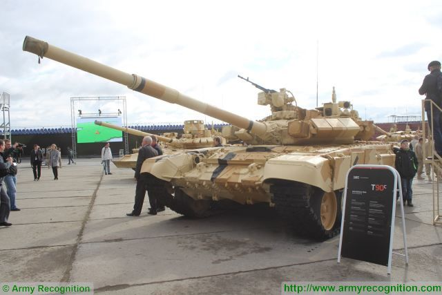Analysis Russian defense industry offers modern main battle tanks on the global military market T-90S 640 001