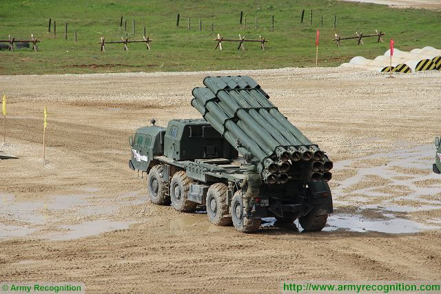 Analysis Russian defense industry promotes modern artillery systems on global military market BM-30 Smerch 640 001