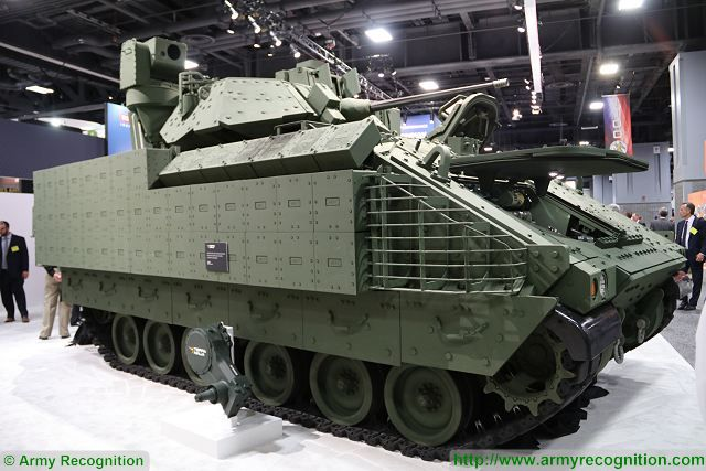 BAE Systems Next Generation Bradley IFV Infantry Fighting Vehicle for United States Army Armed Forces 640 001
