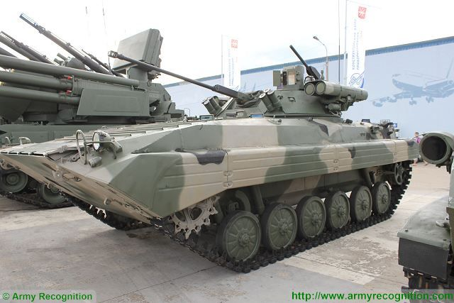 Berezhok combat turret has increased the firepower of BMP-2 IFV Infantry Fighting Vehicle 640 001