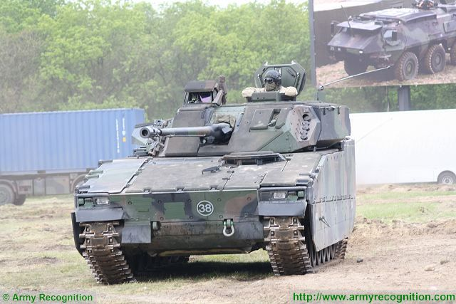 CV9035 IFVs from Netherlands Army to be fitted with Israeli IMI Iron Fist active protection system 640 002