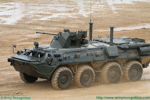 Infantry units of Russian Arctic Brigade will be equipped with upgraded BTR-82A 8x8 armored APC 640 001