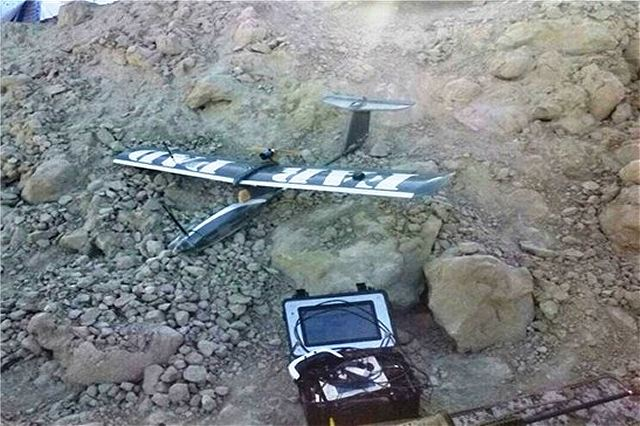 Iran unveils new reconnaissance and jammer drone called Farpad during military exercise 640 001