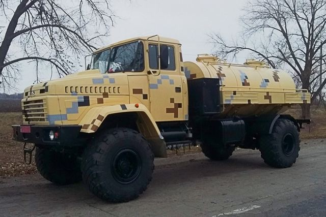 KrAZ of Ukraine launches new military tank truck based on KrAZ-5233BE chassis 640 001
