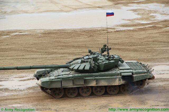 Russia has formed a new tank regiment with T-72B3 Main Battle Tanks in Moscow Region 640 001
