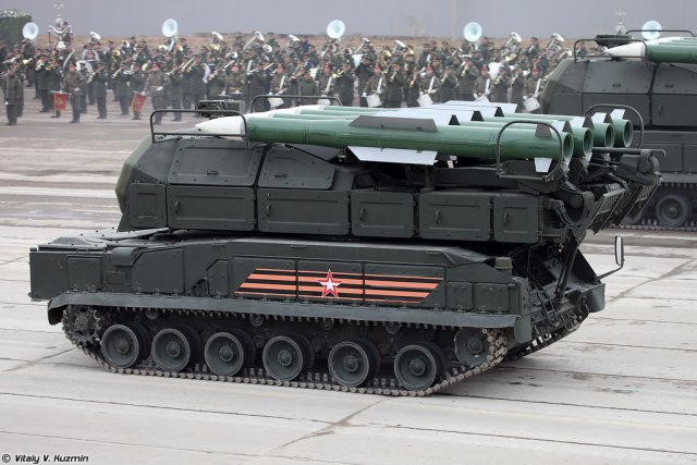 Russian Buk M2 air defense missile south Russia 640 001