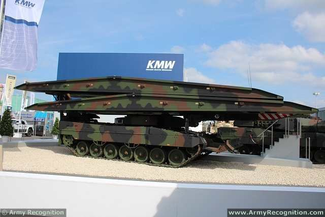 The Netherlands to receive 5 KMW Leguan bridge layers 640 001