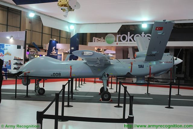 Turkish Armed Forces will take delivery of Anka-S Unmanned Aerial Vehicle in 2017 640 001