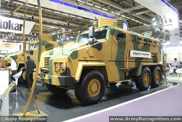 According the Turkish newspaper website Aksam, the Turkish Company will continue to deliver Kirpi MRAP (Mine Resistant Ambush Protected) vehicle to Tunisia. The vehicle will also be produced for Pakistan. In 2014, it was announced a first delivery of Kirpi vehicles to Tunisia.