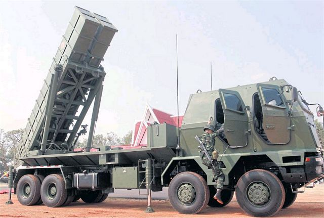 Army of Thailand takes delivery of the first local-made DTI-1 rocket launcher system 640 001
