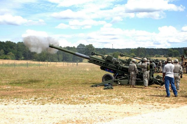 BAE Systems selected Mahindra for assembling and testing M777 howitzers 640 001