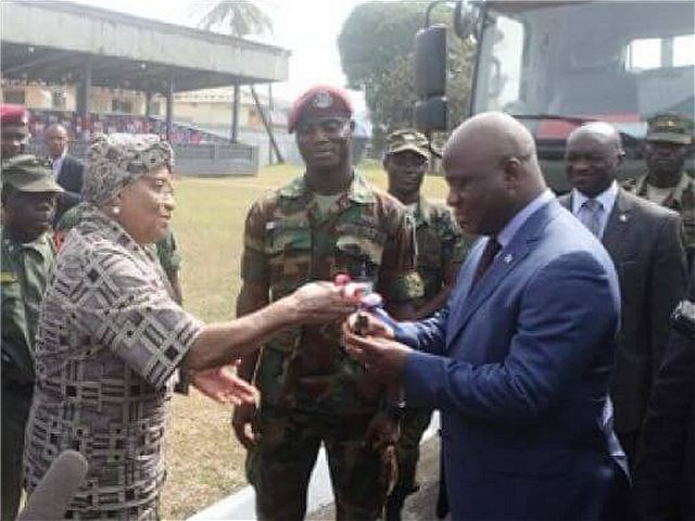 China has donated US 3 million dollar of military equipment to Armed Forces of Liberia 640 001