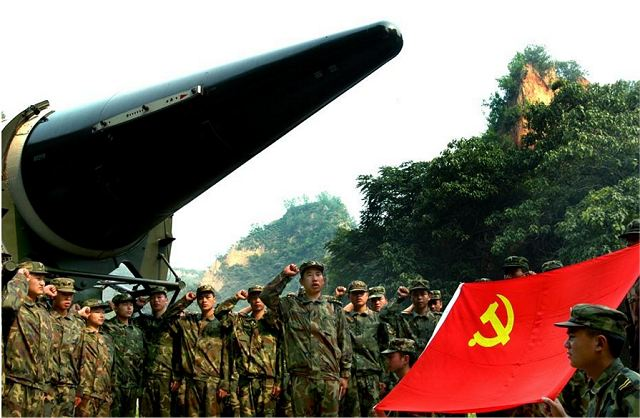 The People's Liberation Army PLA (Army of China) has said it is testing its new rocket force with various battlefield scenarios, including extreme weather and strong electronic jamming. A rocket force brigade, which is equipped with short-range ballistic missiles, has built a training base that can simulate rain, snow, galeforce winds, fog and lightning, as well as electronic warfare situations, according to a PLA statement