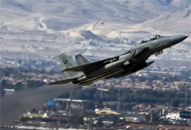 Fighter aircrafts F-15 from Saudi Arabia arrived in Turkey to join air campaign against ISIL in Syria 640 001