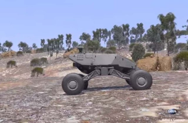 Honeywell Develops Virtual Reality Technology for Future DARPA and US Army Ground Vehicles 640 001