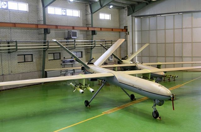 The Iranian Islamic Revolution Guards Corps (IRGC) said on Thursday, February 4, 2016, that its Shahed 129 unmanned aerial vehicle (UAV) is providing combat support to the resistance front in the war on terrorism in Syria.