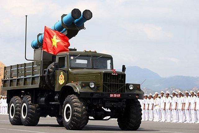 According the latest SIPRI (Stockholm International Peace Research Institute) data of 2015, Israel has delivered 20 EXTRA Guided rocket SSM (Surface-to-Surface) to the Vietnamese armed forces to be used for coastal defence.