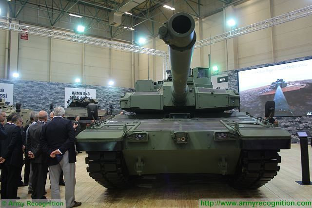 New Turkish-made main battle tank Altay has received interest from Pakistan and Gulf countries 640 001
