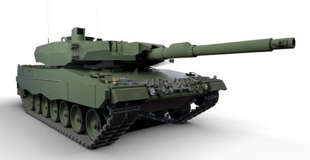 Poland awards Rheinmetall 240 million contract to upgrade 128 Leopard 2 main battle tanks 640 001