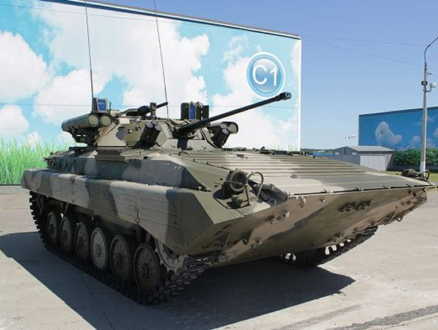 Russia pushes upgraded BMP1 IFVs at international arms market 640 001