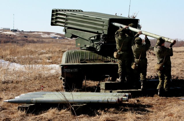 Russia s Eastern Military District to receive Tornado-G multiple rocket launch systems 640 001