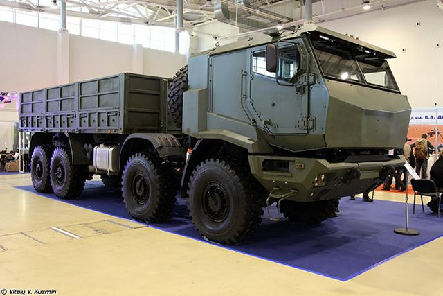 Russian air defense system Pantsir-S SA-22 Greyhound will use new KAMAZ-53958 truck chassis 640 001
