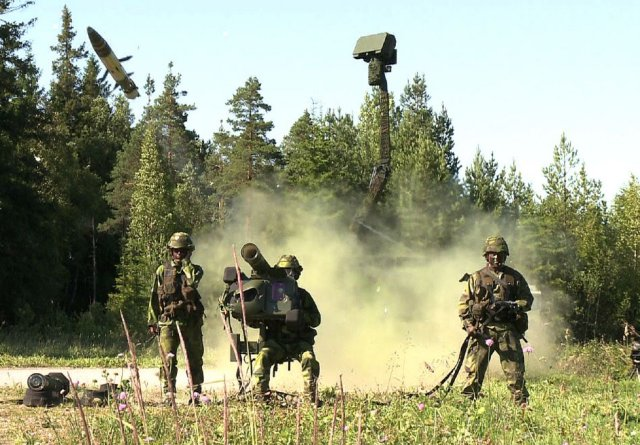 SAAB and Kalyani prepare a joint venture company in India for Air Defence Programmes 640 001