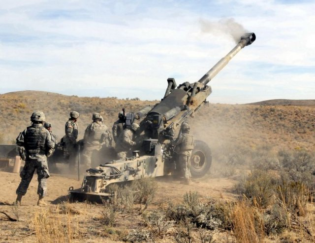 US finalised a 700 million government to government proposal to sell M777 howitzers to India 640 001