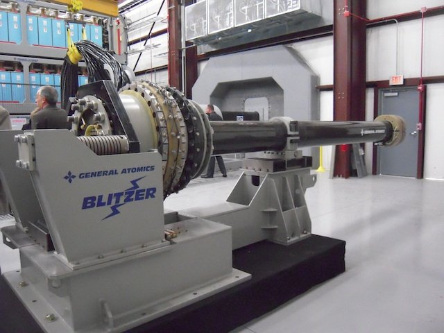 General Atomics Railgun successfully achieved Critical Open Range Tests 640 001
