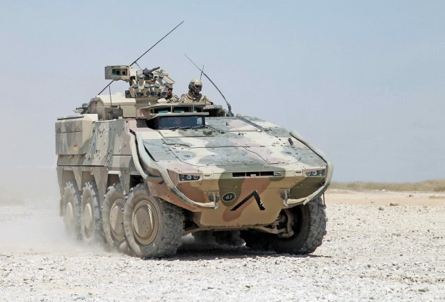 Rheinmetall decided to create a new division called Vehicle Systems 640 002