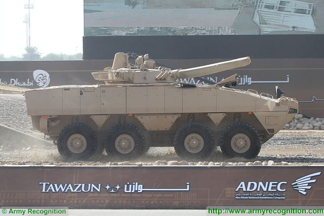 United Arab Emirates has ordered Finnish-made Patria AMV 8x8 armoured vehicle 640 001