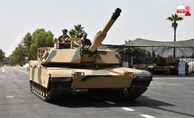 According a video report from Moroccan television Medi 1 TV, July 26, 2016, during an official ceremony the Moroccan army has officially announced that the American-made M1A1 SA Abrams main battle tank is entered in service with its armed forces.