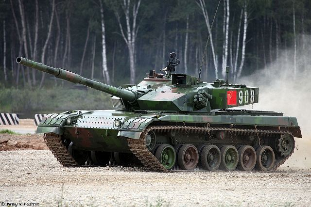 The upgraded Chinese Type 96A also called ZTZ96A main battle tanks (MBT) are going to participate in the Tank Biathlon 2016 competition, according to Russian defense analysts and local sources. The Type 96A was showed for the first time to the public, during the military parade at Beijing in 2009.