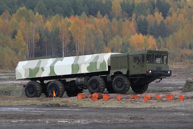 KAMAZ automotive plant (a subsidiary of the Rostec state corporation) is developing a new unified family of heavy transporters intended for Russia`s Ministry of Defense (MoD), according to a source in the local defense industry.