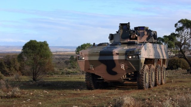Patria AMV35 selected for Australian Army s Land 400 Program evaluation 640 001