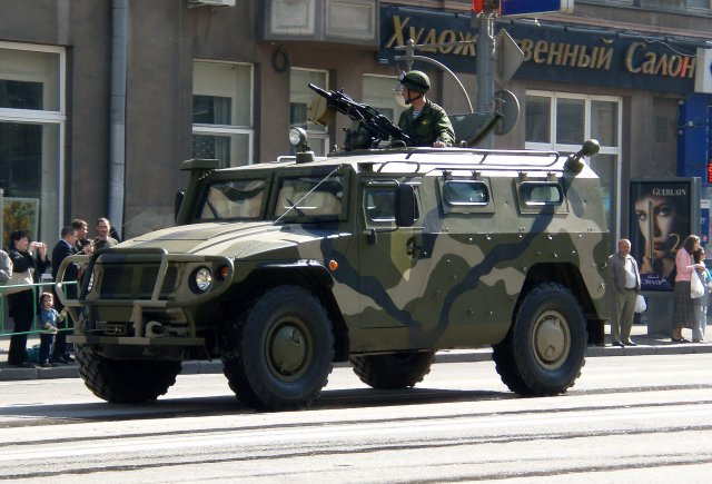 Russia to upgrade Tigr armored vehicle within five years 640 001