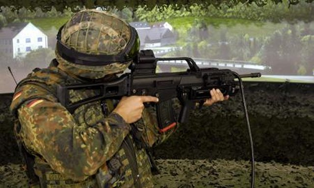 Thales modernises the shooting simulators of the shooting simulators of the German Army 640 001