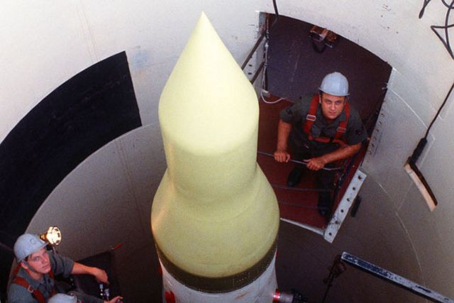 US Air Force releases an official request for a new ICBM InterContinental Ballistic Missile 640 001