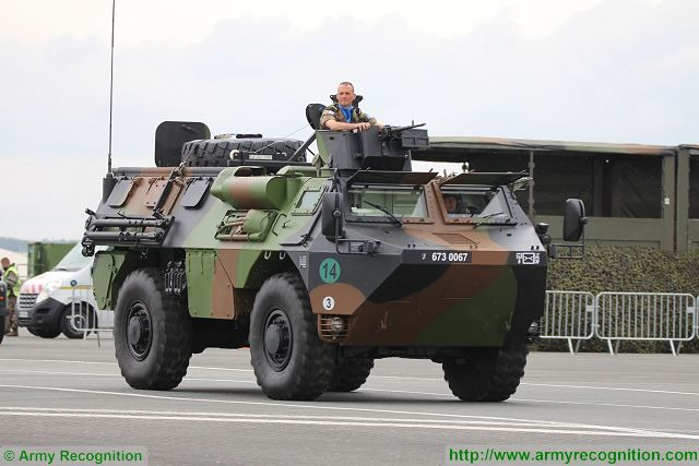 A new variant of the VAB was displayed for the first time at the military parade for French Bastille Day 2016 under the name of VAB ELI (élément léger d'intervention - light recovery vehicle).