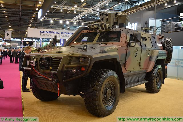 Turkish Compan Otokar has received new order for Cobra 2 4x4 tactical armoured vehicles 640 001