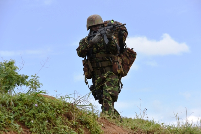 Uganda established a new mountain warfare unit