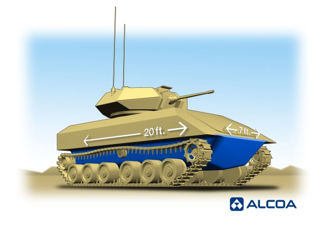 Alcoa to develop innovative lightweight solutions for US Army s ground combat vehicle 640 001