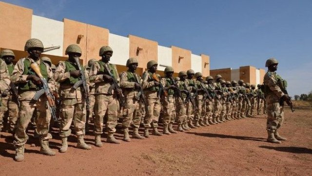China donates military equipment worth 5 Million to Ecowas Standby Force 640 001