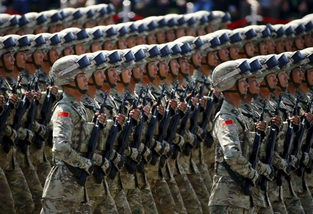 China plans to increase military spending by 7 8 in 2016 640 001