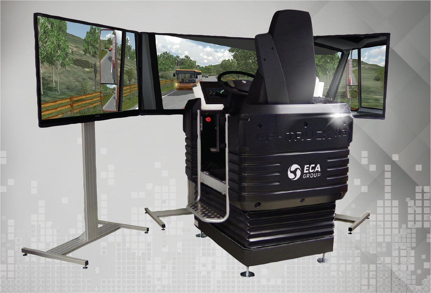 ECA Group to provide EF Truck  simulators and EF Ultra 2 car to the MoD of Morocco 640 001