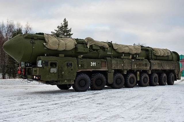 East Siberia missile division to receive a regiment set of Yars intercontinental missile systems 640 001